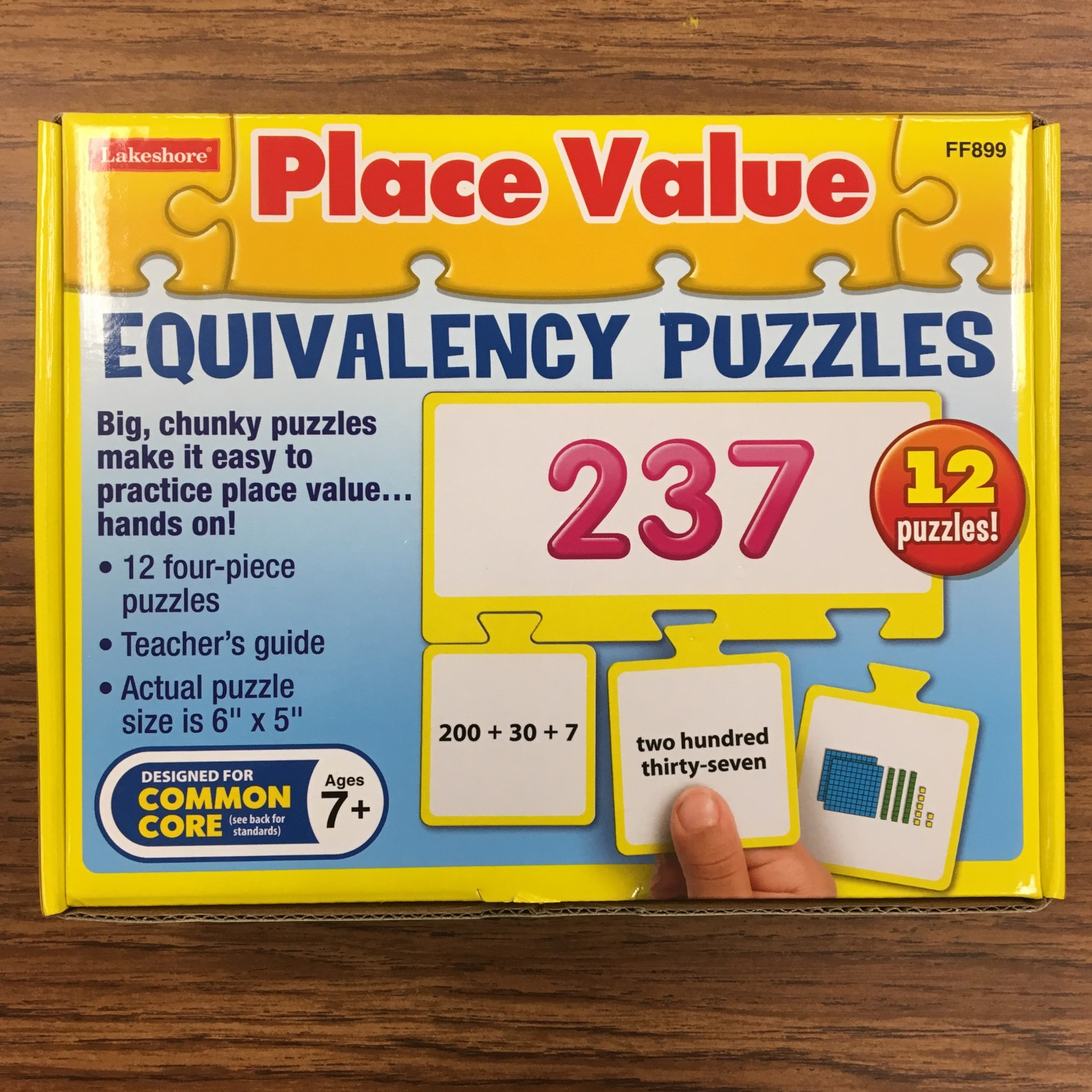 place value equivalency puzzles
